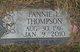 Profile photo:  Fannie Thompson