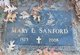 Mary Louise <I>Littleton</I> Sanford