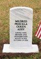 Profile photo:  Mildred Prisilla Addy