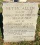 "Profile photo:  Elizabeth ""Betsy"" <I>Love</I> Allen"