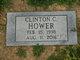 Profile photo:  Clinton C. Hower