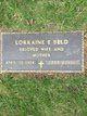 Profile photo:  Lorraine E. Beld