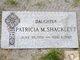 Patricia M. <I>Sheehy</I> Shacklett