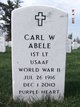 Profile photo:  Carl W Abele