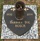 Profile photo:  Barbara Sue Hosch