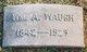 """William Allen """"Billy"""" Waugh"""