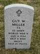 """Profile photo:  Guy Wallace """"Wally"""" Miller"""