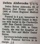 Profile photo:  Debra <I>Helms</I> Alsbrooks