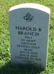 Profile photo:  Harold B Branch
