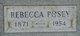 """Rebecca """"Becky"""" <I>Parris</I> Posey"""