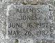 Profile photo:  Allen S. Jones