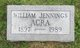 Profile photo:  William Jennings Acra