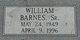 William Barnes, Sr
