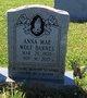 Annie Mae <I>Wolf</I> Barnes