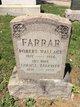 Robert Wallace Farrar