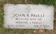 Joan M <I>Raynor</I> Paulli