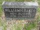 Profile photo:  William H. Baker