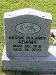 Profile photo:  Bessie <I>Dulaney</I> Adams