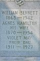 Profile photo:  Agnes <I>Hamilton</I> Sennett