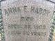 """Anna E. """"Annie"""" <I>Schmeck</I> Hardy"""