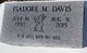 Isadore M. Davis