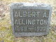 Profile photo:  Albert A. Allington