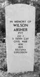 Profile photo:  Wilson Absher