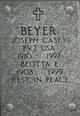 Profile photo:  Joseph Casey Beyer