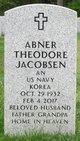 Profile photo:  Abner Theodore Jacobsen
