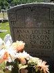 Profile photo:  Anna Louise Anderson