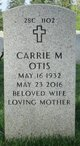 Profile photo:  Carrie M Otis