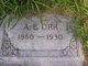"""Profile photo:  Abraham Lincoln """"A. L."""" Orr"""