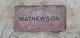 Profile photo:  Mathewson