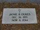 Janie <I>Bozardt</I> Dukes