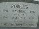 Profile photo:  Wilbert G Roberts
