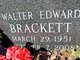 Profile photo:  Walter E Brackett