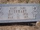 Mary Jane <I>Cox</I> Everhart