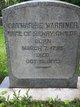 Catherine <I>Warriner</I> Childs