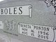 Profile photo:  Beneta <I>Ponton</I> Boles