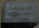 Mary M. Alt