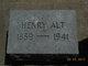 Henry Alt