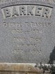 Profile photo:  George T. Barker