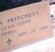 Profile photo:  Pritchett