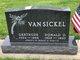 Profile photo:  Gertrude E. Van Sickle