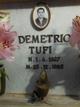 Demetrio Tufi