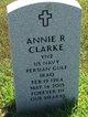 Profile photo:  Annie R <I>Abernathy</I> Clarke