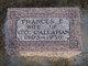 """Frances E """"Fanny"""" <I>Sharp</I> Callahan"""