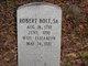 Robert Bolt, Sr
