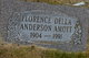 Florence Della <I>Anderson</I> Amott