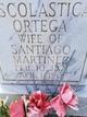 Escolastica Ortega